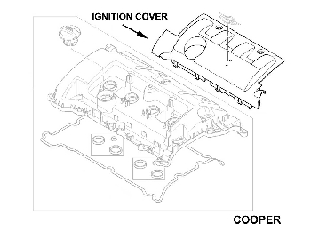 Radio Wiring Diagram 2005 Jeep Grand Cherokee in addition Spark Plug Lead Set 108533611 as well Dodge Nitro Heater Core Diagram likewise 01 Hyundai Santa Fe Engine Diagram also Mini Cooper Stereo Wiring. on mini cooper spark plug