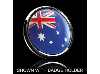 Dome Style 3 Inch Magnetic Badge - Australian Flag