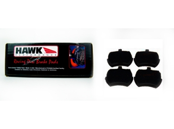 Austin Mini Brake Pad Set Hawk Black Let Mini & Spridget Competition