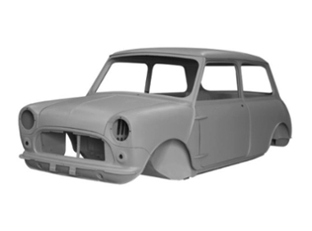Austin Mini Body Shell Complete Mki