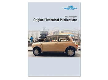 Dvd-rom Technical Publications For All Minis And Variants '59~'00