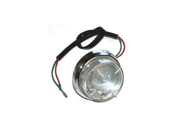 Lamp Front T/s 1098cc Morris Moke All White Lens
