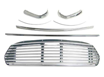 Classic Austin Mini Grille Kit Including Grille And The Surrounds