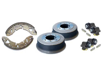 Mini & Cooper Twin Leading Drum Brake Kit Maintenance