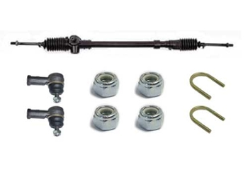 Left Hand Drive Steering Rack With Installation Kit & Ends