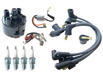 Ignition Tune Up Kit With Shop Manual For '74-'80 45d Dist