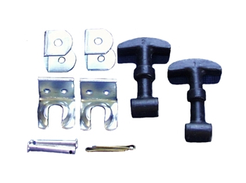 Classic Austin Mini Bonnet Hooks Sold In Pairs With Brackets
