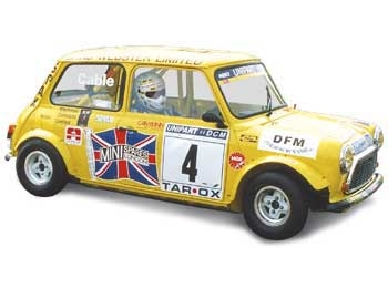 Austin Mini Group 5 Wheel Arch Kit 4 Inch Wide