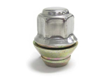 Wheel Lug Nut Late Cooper With Captive 60 Deg Washer