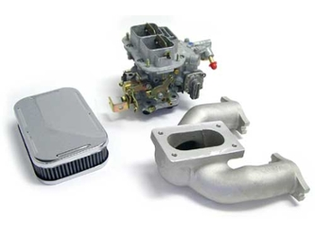 Dgv Weber Carb Kit Includes Manifold, Carb And Air Cleaner