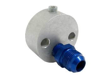 Austin Mini Oil Inlet Adapter For Engine With 10an Fitting Remote Filter