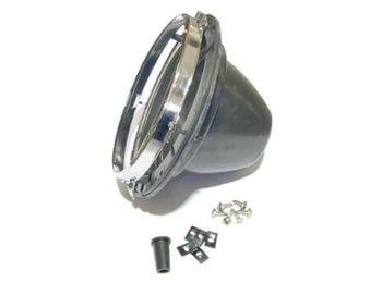 Universal Plastic 7 Headlamp Headlight Bucket Assembly