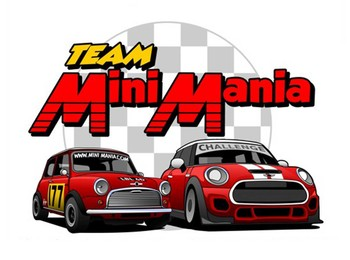 Mini Cooper T-shirt Team Mini Mania 2016 Medium