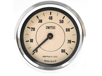 Tachometer Smiths 52mm Magnolia Face