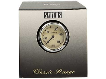 Classic Austin Mini Water Temp Gauge (degree C) Mechanical Smith Magnilia Face