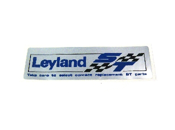 Claasic Austin Mini Leyland St Rocker Cover Sticker