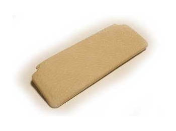 Mini Sunvisor Pad 1966-70 Cream Crackle