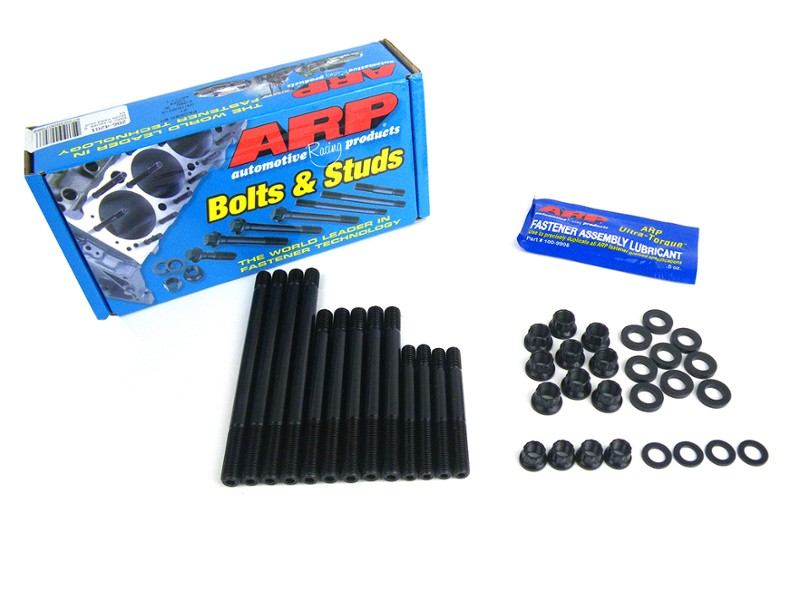 Stud Kit Head Arp 9 Stud With Rocker Sruds & 12 Point Nuts , Sprite , Mini