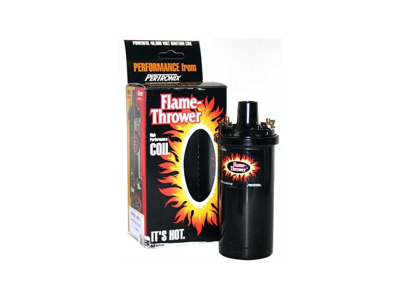 Ignition Coil Pertronix Black Oil Filled 3.0 Ohm