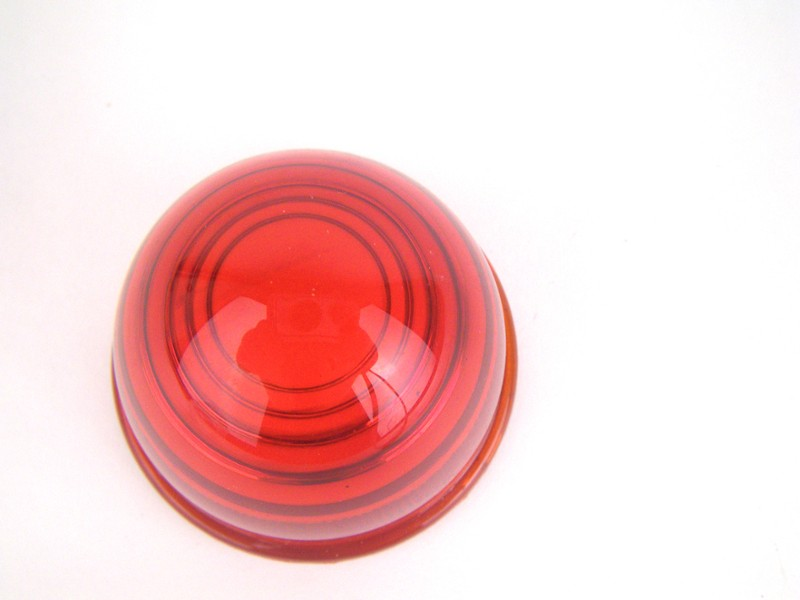 Lens Red Rear Moke Bugeye Morris Traveller Glass