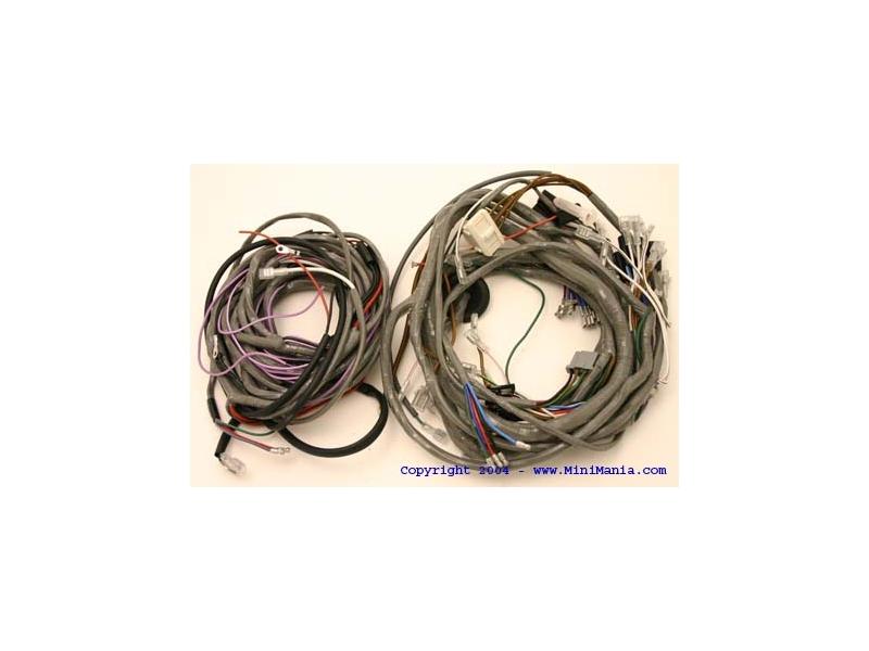 Classic Mini Wiring Harness Clubman 1275 Gt 70