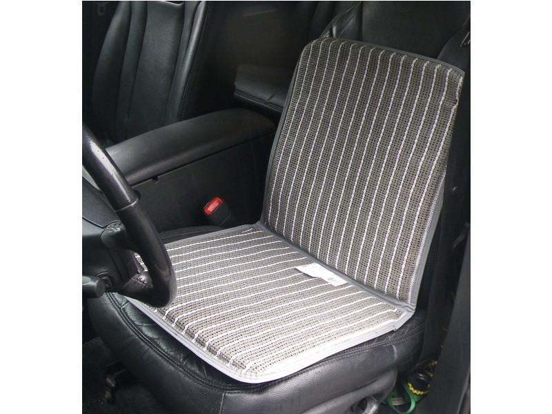 Ventilated Seat Cover Cushion Protector - Gray