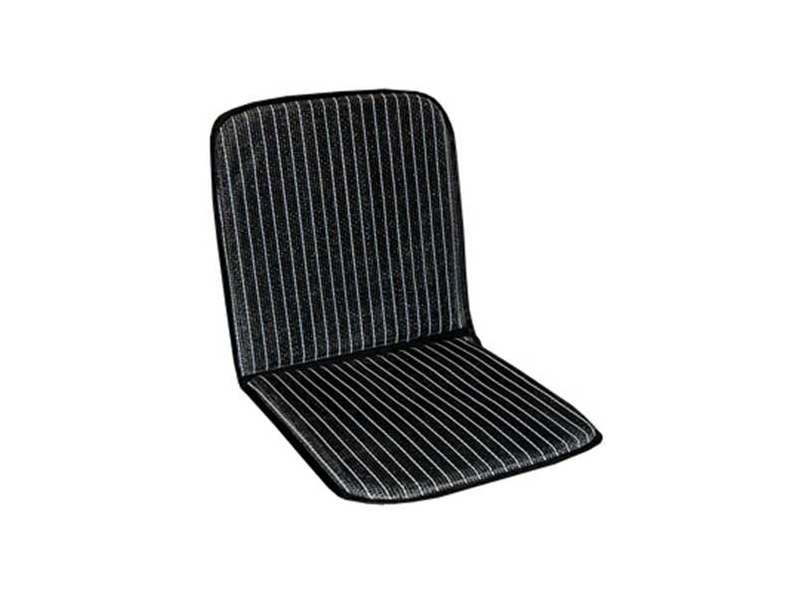 Classic Austin Mini Cooper Ventilated Seat Cover Cushion Protector - Black