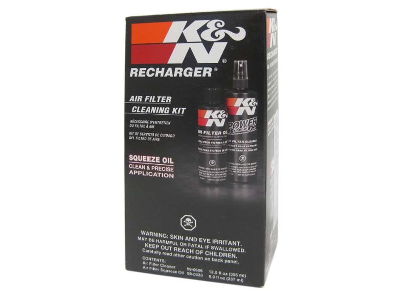 K&N Cotton Air Filter Cleaner & Industrial Strength Degreaser