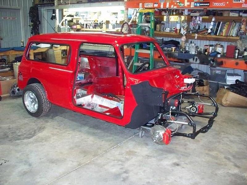 400HP AWD VTEC Mini Traveller!