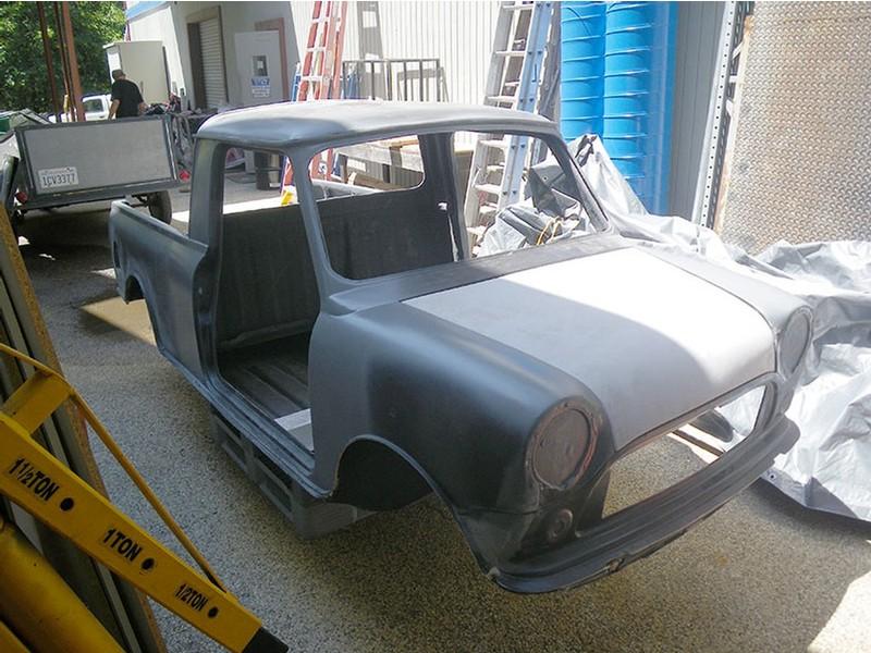 Clearance Priced Mini Pickup Fiberglass Body Shell