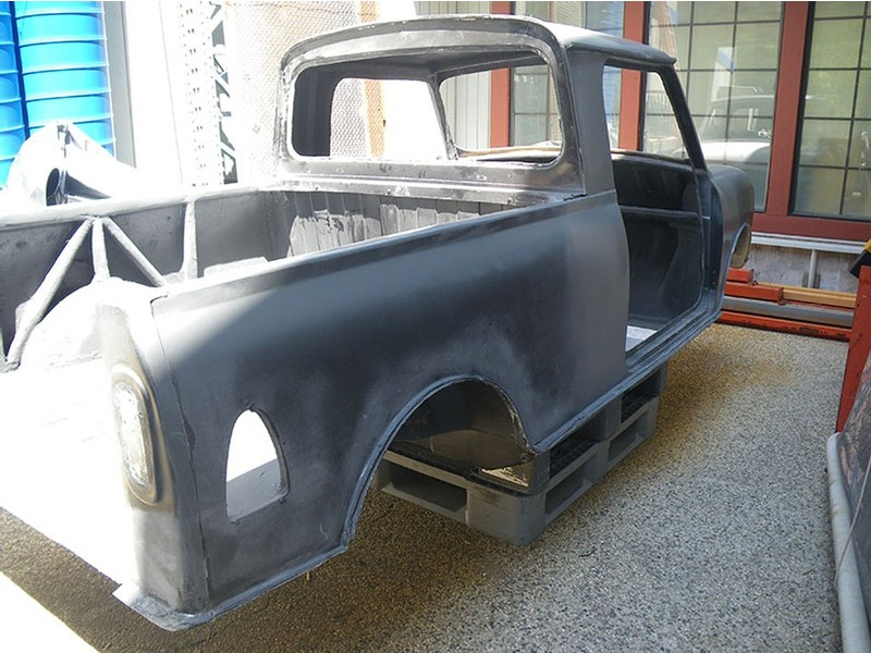 Clearance Priced Mini Pickup Fiberglass Body Shell
