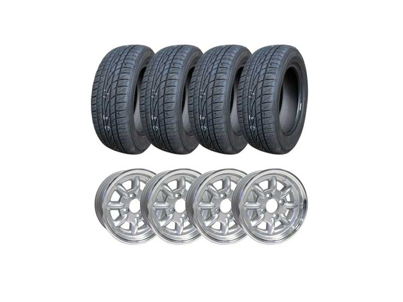 165 60 14 Tire http://minimania.com/part/MMKT2103/SET-OF-4-MINI-COOPER-5x12-WHEELS--FALKEN-165-60-12-TIRES