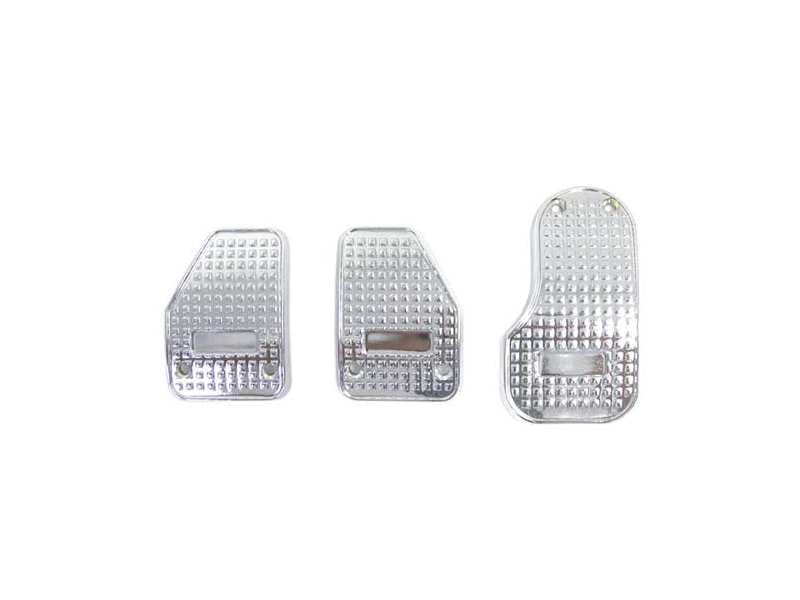 Alloy Sport Pedal Pad Set, Mini Cooper