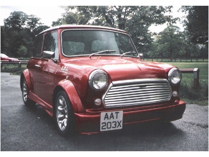 Classic Mini Mtec Sportpak 8 Piece Body Kit