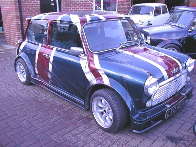 Classic Mini Turbo Replica 7 Piece Body Kit