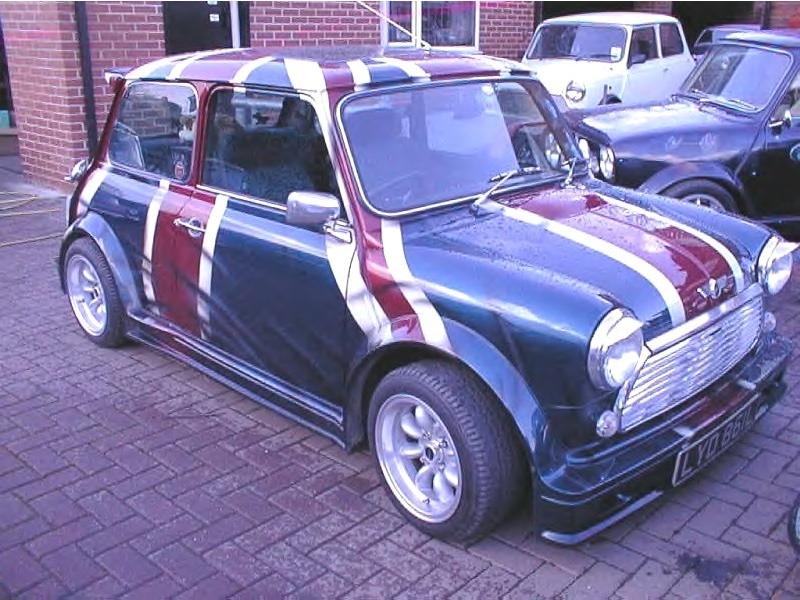 Classic Mini Turbo Replica 7piece Body Kit