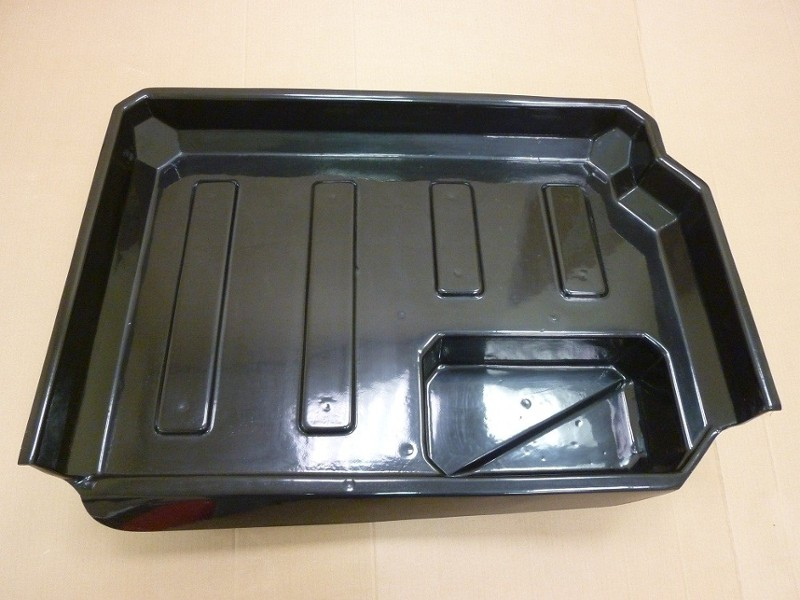 Classic Mini Boot Liner Cover Fiberglass