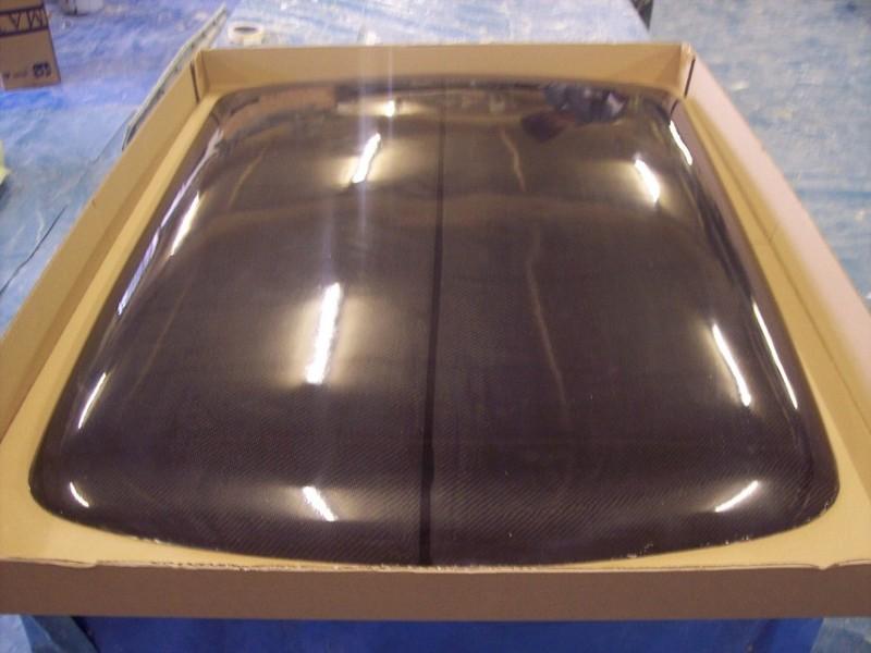 Classic Mini Carbon Fiber Roof Skin