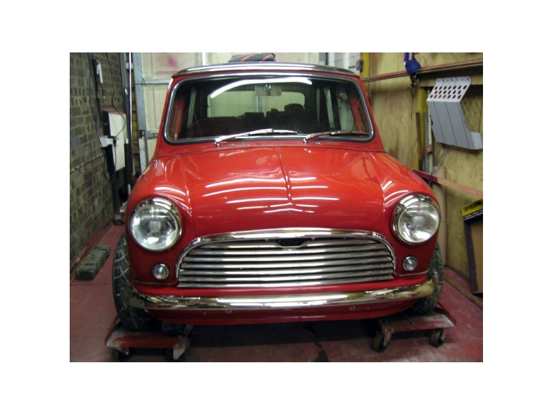 Classic Mini One Piece Mini Front End Carbon Fiber Composite