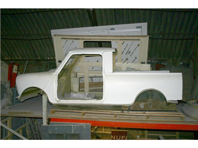 Mini Pick Up Body Shell Kit Fiberglass