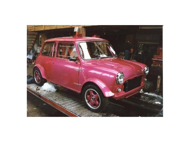 Classic Mini Works Rally Roof Vent Kit Fiberglass