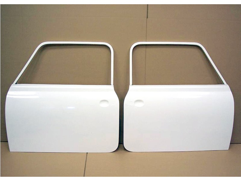 Clic Austin Mini Mk111 Style Doors Fibergl Pair