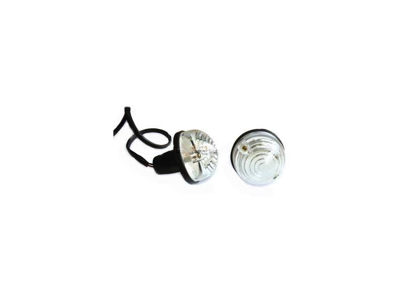 Front Turn Signal Assembly White Sold Individualy