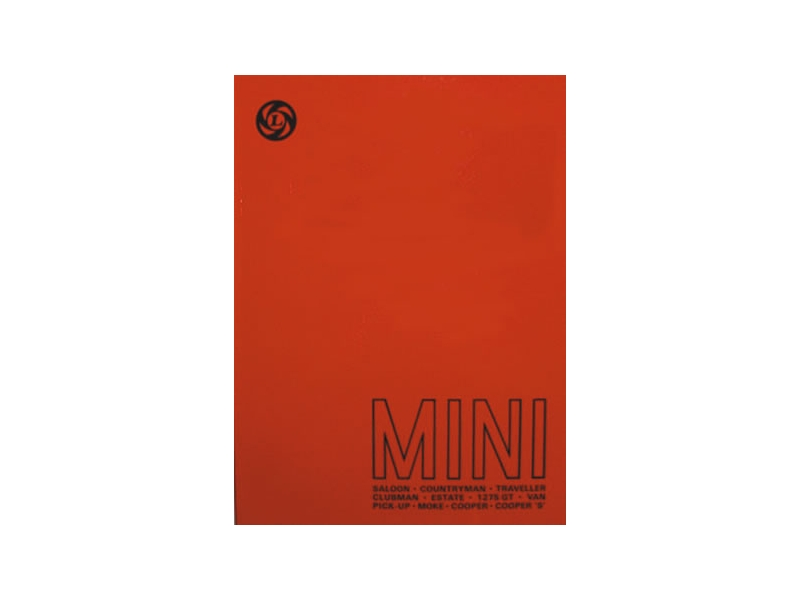 Austin Mini Workshop Manual Reprint 59-78 With Australian Supplement