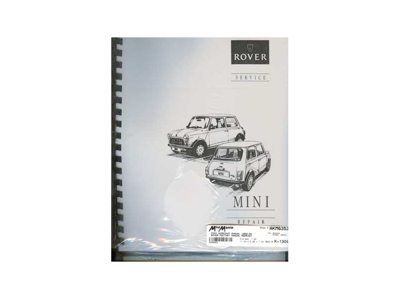 austin mini workshop manual 1980 and later rover f rh minimania com mini r50 workshop manual mini workshop manual pdf