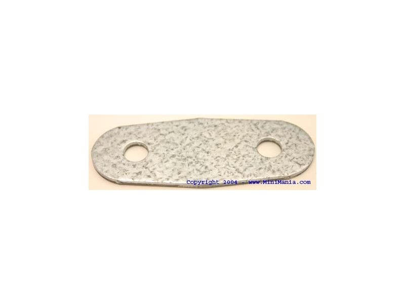 Door Hinge Support Plate - Galvanized