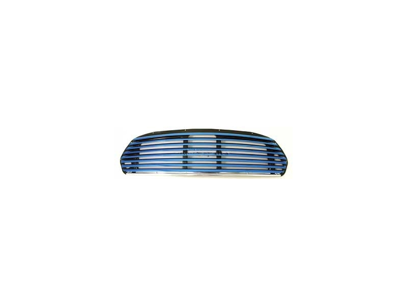 Classic Austin Mini Wide Slat Blue Grille Use With Internal Release