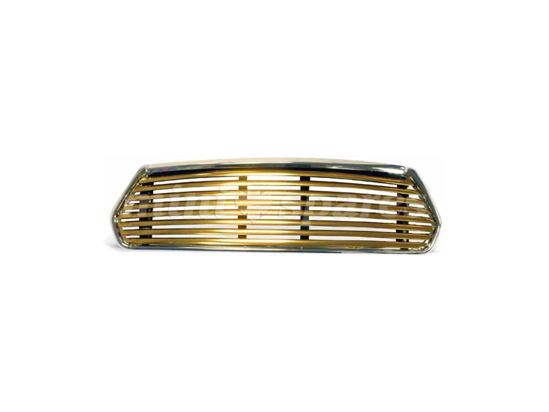 Classic Austin Mini Wide Slat Gold Grille Use With Internal Release