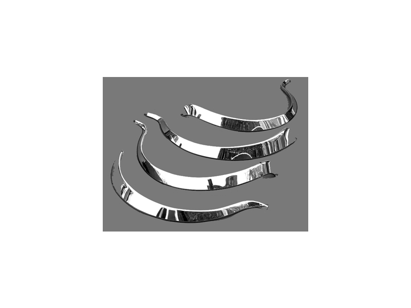 classic mini stainless steel wheel arch cover set