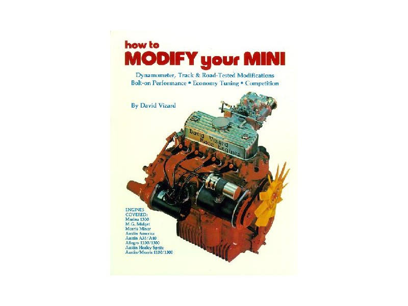 How To Modify Your Mini By David Vizard - Tuning